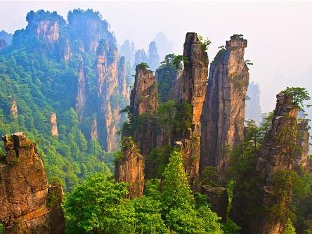 TRUNG QUỐC: Phượng Hoàng cổ trấn - Trương Gia Giới 6 ngày 5 đêm
