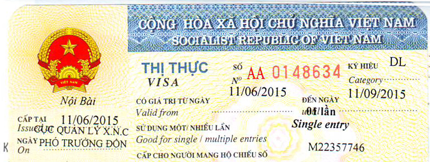 cấp visa du lịch