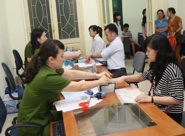 CHỨNG MINH THƯ -Thủ Tục Cấp Đổi - Mới Tại Hà Nội